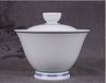 重庆原来网上集青花瓷器双线盖碗