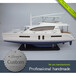 Y2001双体70厘米长帆船游艇模型