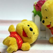 毛绒玩具挂件动漫公仔维尼熊精美礼品吊饰可定制图片