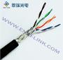 防鼠防蚁特种电缆ER-1008阻水超五类双绞线厂家直销