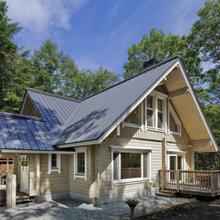 防腐木度假木屋别墅图片