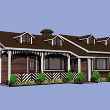 定制各种功能木屋别墅厂优游注册平台可出效果图图片