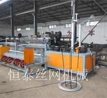 勾花網機,煤礦支護網設備,刀片刺繩菱形網機器,刀片刺網焊接設備圖片