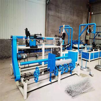 厂家生产全自动勾花网机菱形网编织机器