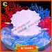 商场美陈橱窗道具海洋贝壳道具定制制作