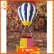 供应美陈橱窗道具玻璃钢热气球装饰道具定制