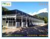玻璃温室-观光温室-配置水帘风机活动外遮阳