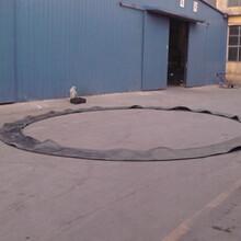 河北衡水众志生产商家生产加工轨道交通洞门盾构出洞口密封帘布橡胶板圆环板图片