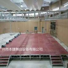 本捷厂家供优质铝合金拼装舞台婚庆T台大型活动舞台直销演出舞台架图片