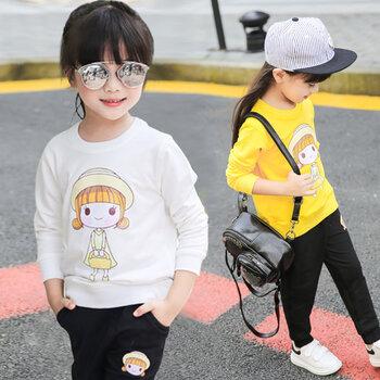 網上秋冬童裝批發廠家韓版服裝便宜好賣中低端服裝批發市場