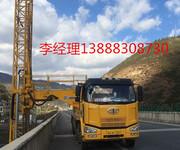 中俄界河跨境公路大桥检修车出租黑龙江桥梁检修维护加固图片