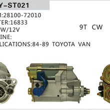 汽车起动机丰田微型马达28100-72010图片