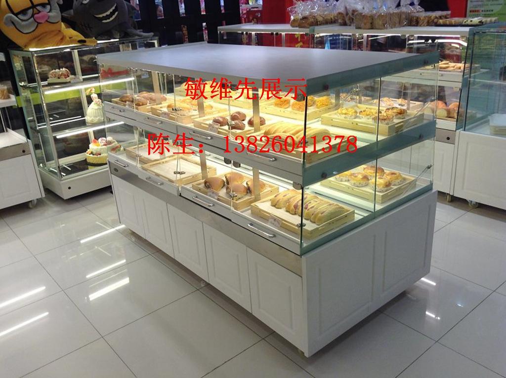 新款欧式蛋糕柜设计定做首选展示柜厂家