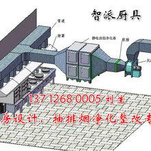 广州企事业单位餐饮厨房抽排系统设计安装施工、整体厨房工程图片
