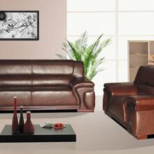 东莞优格办公家具厂家直销定制真皮、西皮办公沙发