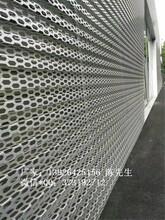 六角孔长城型铝单板广告牌长城铝单板装饰铝建材图片