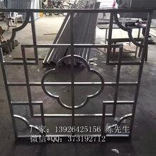 铝方管窗花格栅防护铝方管艺术格栅通风装饰材料