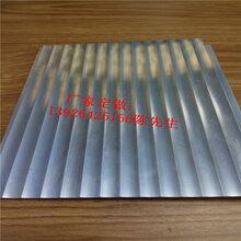 瓦楞波浪铝板波浪形瓦楞板铝质装修材料图片
