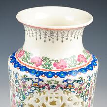 陶瓷花瓶厂落地青花大花瓶价格
