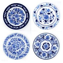 礼品瓷盘定做青花瓷纪念盘定制定做价格