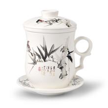 陶瓷杯子定制寿诞贺礼杯子