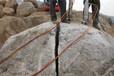保定破碎路边大石头的机械液压破石机一天成本至少省3000