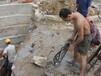 徐州挖基坑钻孔开石头液压破石机