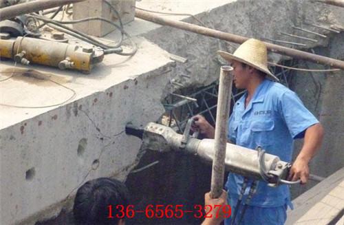 灌注桩拆除岩石劈裂机点击咨询