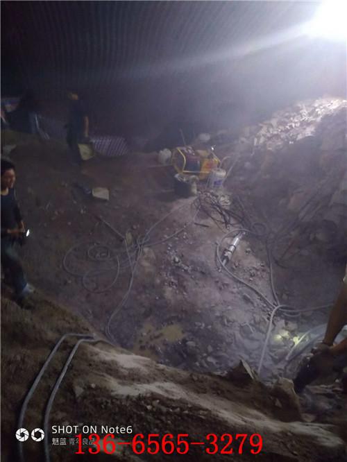 开挖工程石头分裂器一致好评
