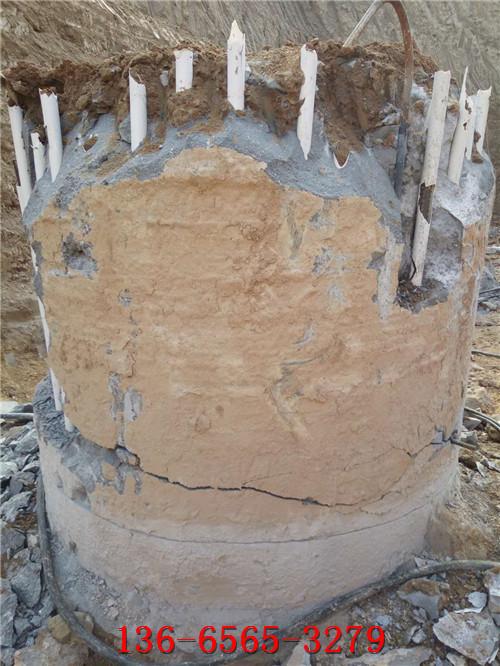 混凝土结构破裂液压劈裂器使用案例