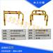 天燃气管道专用防撞护栏PVC电力警示拉线护管