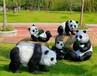 公司最新推出仿真昆虫展公园主题模型长颈鹿熊猫出租出售