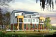 河北廊坊三河市新型欧式轻钢别墅、度假村风格轻钢别墅G550镀锌钢材