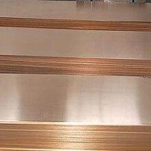 貴陽紫銅板價格貴陽T2紫銅板廠家特殊板面紫銅板定做圖片