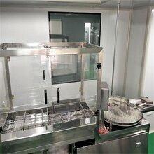 厂家定制内蒙古2-700ml西林瓶超声波洗瓶机-口服液瓶洗瓶机型号图片