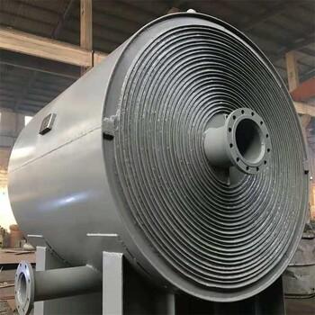 金能螺旋板式冷凝冷卻器,嘉興定制螺旋板式冷卻器