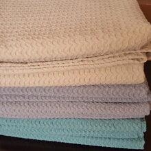 水洗华夫格毯子图片
