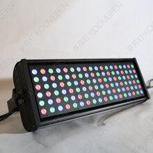厂家直销108颗3WLED防水投光灯LED天地排灯LED洗墙染色灯