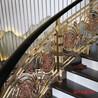 酒店鋁藝雕花樓梯護欄家居裝飾古銅色護欄廠家