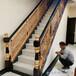內蒙古輕奢定制鋁藝樓梯銅樓梯扶手