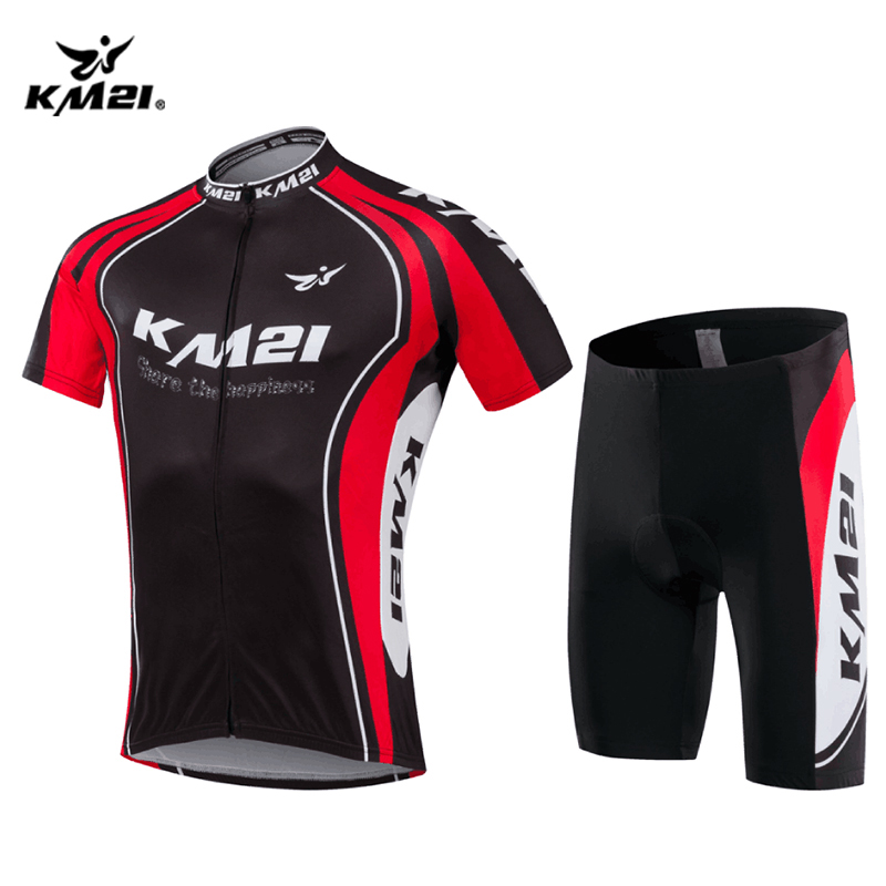 康美创意春夏季骑行服男装山地自行车服单车上衣定制厂家直销