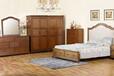 外贸家具名居库美式实木家具-0177卧室成套家具