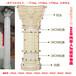 四川广元欧式模具厂家直销圆形塑钢罗马柱模具阳台水泥花瓶模具窗套模具