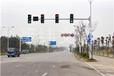 交通信号灯,交通标志牌,交通标志杆,护栏