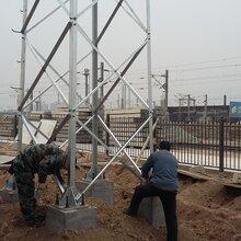 西安独立避雷针塔,氨区避雷塔GFL,GH,环形钢管避雷针找陕西诚和
