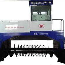 有机肥履带式翻堆机,养殖场处理设备槽式翻抛机