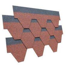 生产彩色沥青瓦屋面玻纤瓦彩色玻纤胎油毡瓦马赛克沥青瓦
