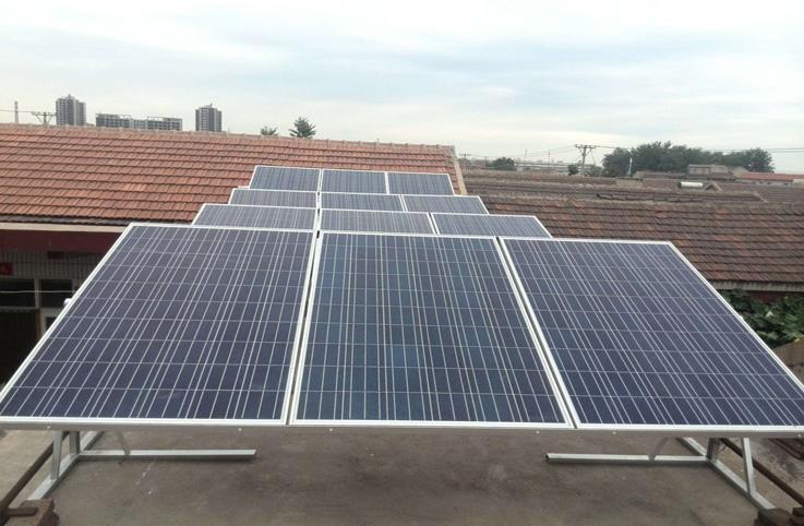 20W50w100w120w255W260w英利太阳能电池板光伏并网发电系统分布式发电家庭式小型发电站电池板价格电池板发电原理