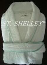 銷售棉制經編毛巾布浴衣圖片