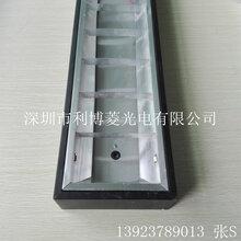 广东厂家批发2001200黑色格栅灯盘led明装暗装应急格栅灯盘图片